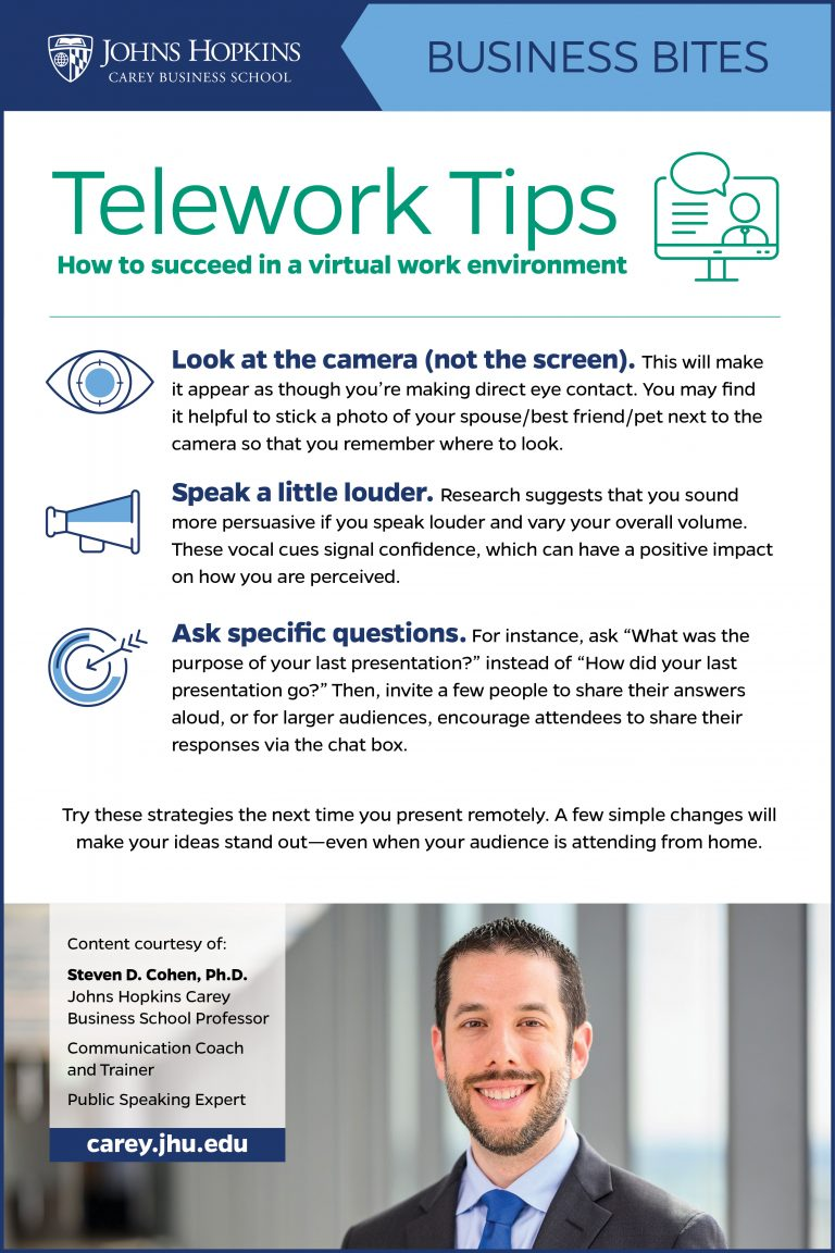 Tips for Zoom Calls